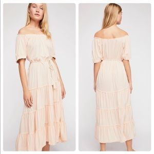 Free People Spell On You Midi Dress - XS